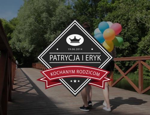 Podziękowania dla rodziców – Patrycja i Eryk
